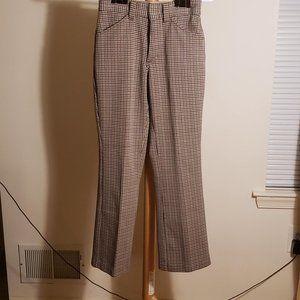 Vintage Paris Checkered Pants